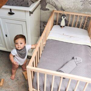 Pozytywka dla niemowlaka Pingwin Storm Grey
