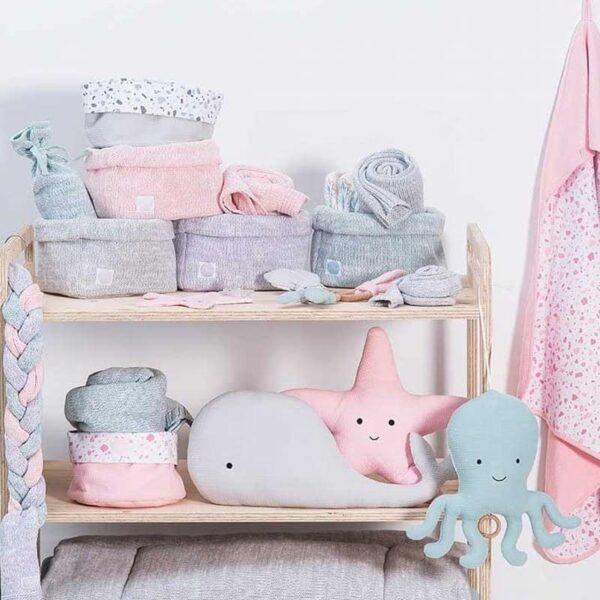 Pozytywka dla niemowlaka Wieloryb Grey
