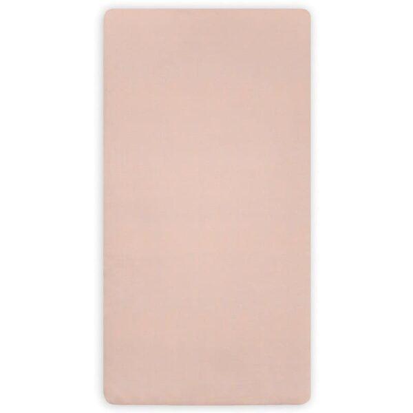 Prześcieradło do łóżeczka 60x120 Pale Pink