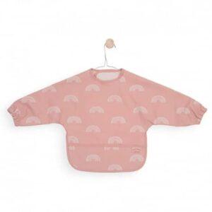 Śliniak fartuszek Rainbow Blush Pink