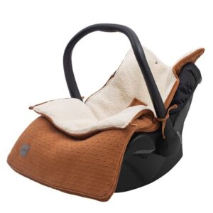 Śpiworek do fotelika i wózka Bliss Knit CARAMEL