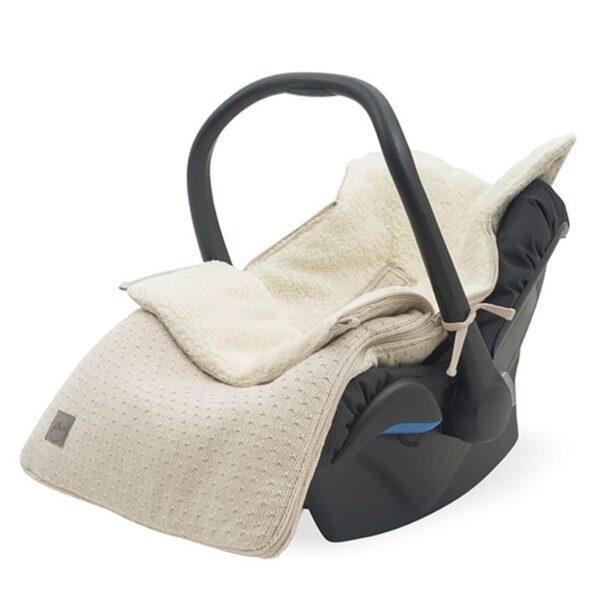Śpiworek do fotelika i wózka Bliss Knit Nougat