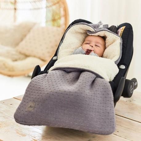 Śpiworek do fotelika i wózka Bliss Knit Storm Grey