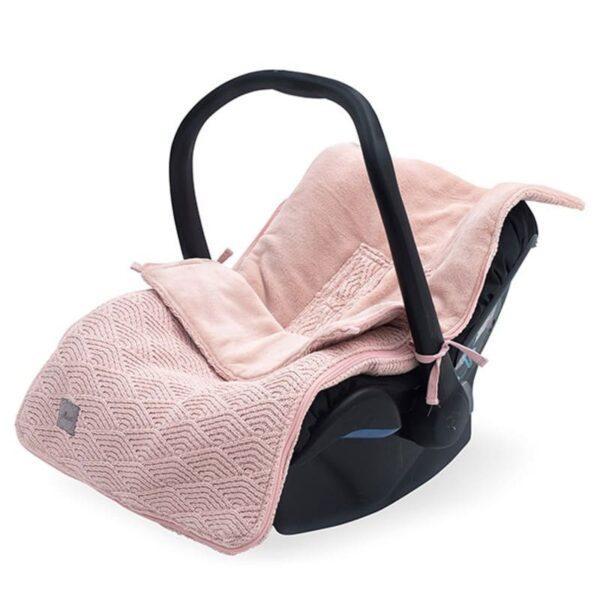 Śpiworek do fotelika i wózka Bliss Knit Pale Pink