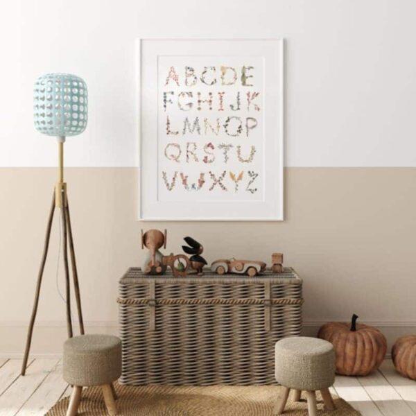 Plakat dla dzieci Alphabet Large