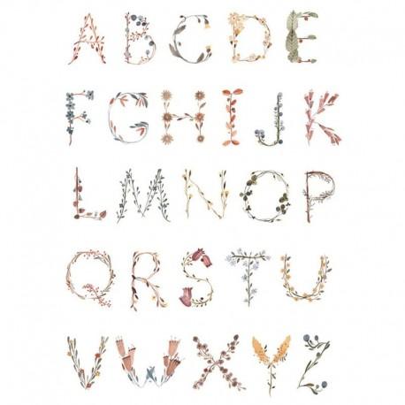 Plakat dla dzieci Alphabet Medium