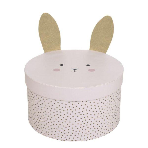 Pudełko kartonowe ozdobne królik 2 szt