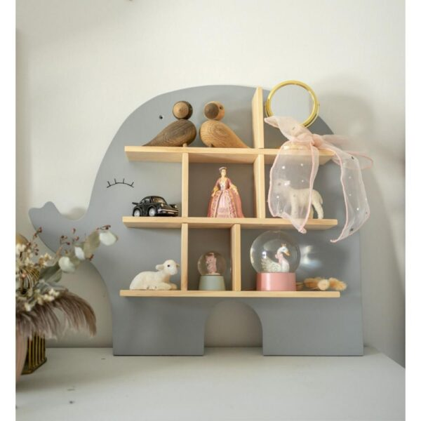 Półka ścienna do pokoju dziecięcego słoń