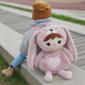 Plecak dla dziewczynki Różowy Królik