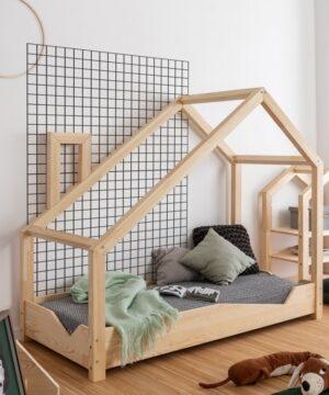 Łóżko domek Luna 1 70x200