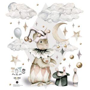 Naklejka na ścianę Rabbit the magica