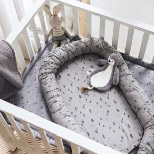 Pieluszki niemowlęce 3 sztuki Storm Grey