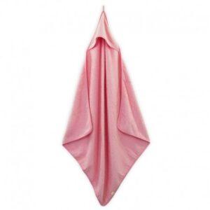 jollein recznik kapielowy 80 x 80 candy pink 300x300 - Ręcznik dziecięcy z kapturkiem Candy