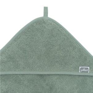 Ręcznik dla dzieci z kapturkiem Ach Green