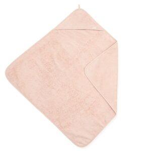 Ręcznik dla dzieci z kapturkiem Pale Pink