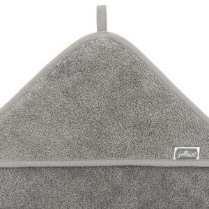 Ręcznik dla dzieci z kapturkiem Storm Grey
