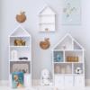 Regał domek dla dziecka zestaw Sienne