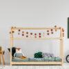 Łóżko w kształcie domku MM 70x160