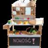 Sklep drewniany dla dzieci zabawka